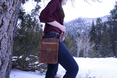 Cross Body Bag - Bomber Brown