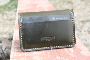 Pilot Wallet in Envy Green Leather