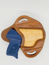 Ruger LC9 Holster - Genuine Python Inlay