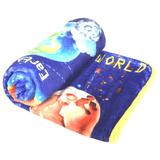 Bamboo Minky Baby Blanket - Space - You Are Out Of This World
