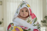 Bamboo Floral Hooded Towel