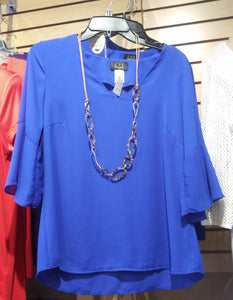 LTX Royal Blue Blouse
