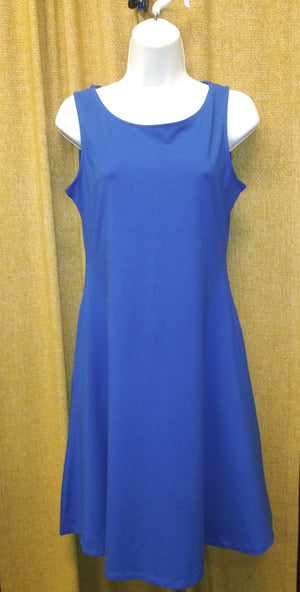 V.Lu style Royal Blue Dress