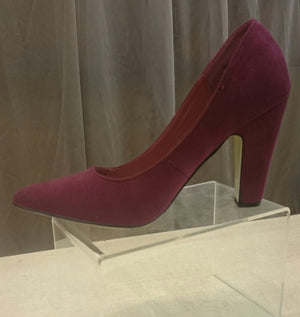 Pierre Dumas Careen Burgundy Pump