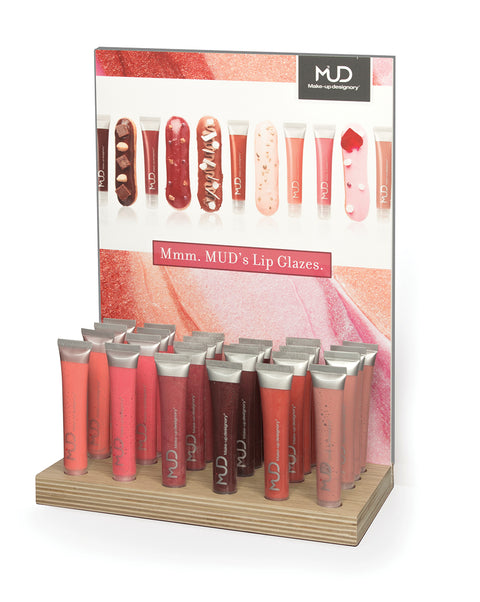 Lip Glaze Counter Display