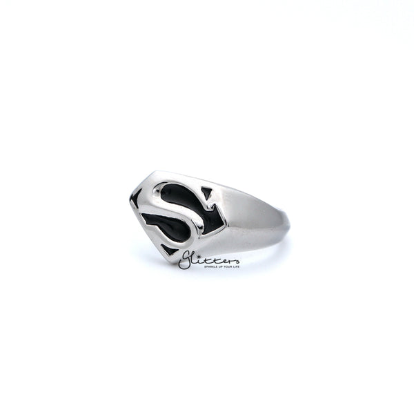 Stainless Steel Classic Superman Casting Men's Rings