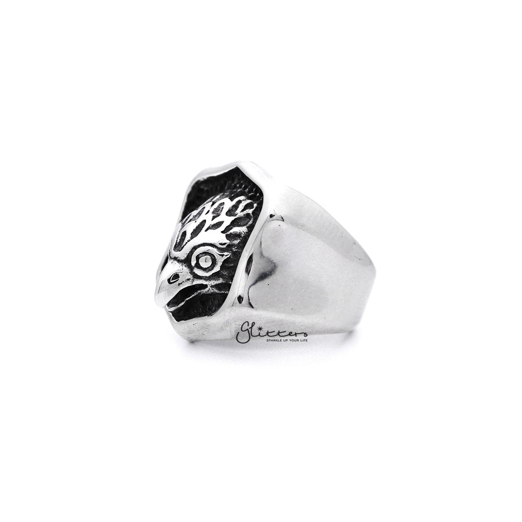 Stainless Steel Eagle Casting Men's Ring