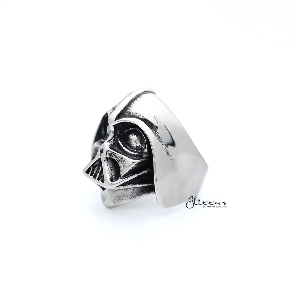 Men's Stainless Steel Darth Vader Casting Rings