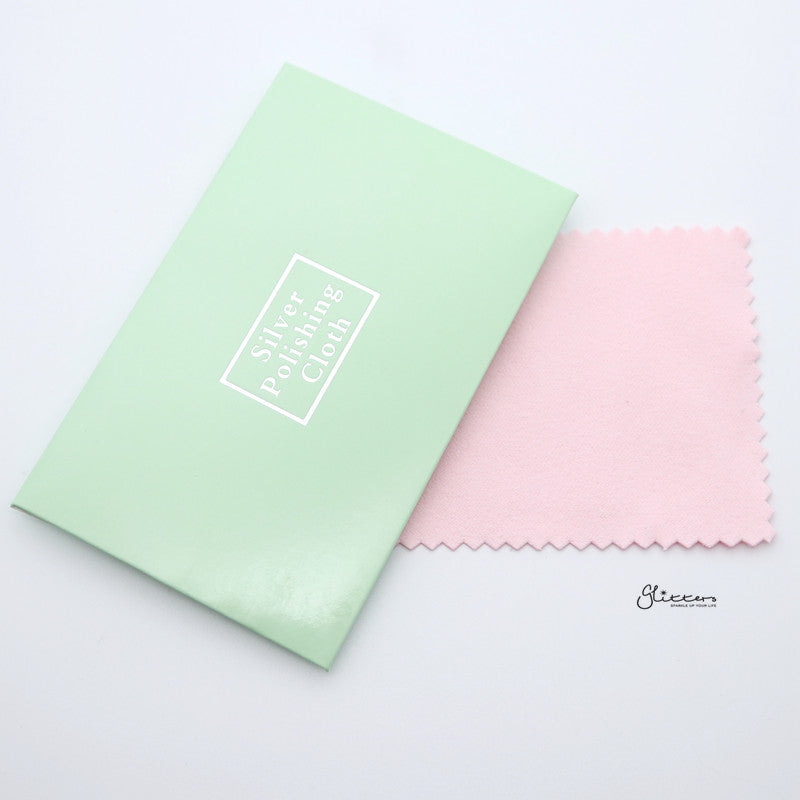 Silver Jewellery Polishing Cleaning Cloth-Accessories-Glitters