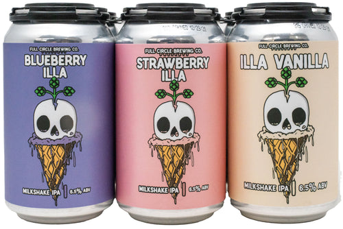 The Illa Triple Scoop Milkshake IPA Mixed 6 Pack