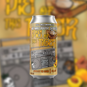 Pie of the Tiger Apricot - American Sour 6.0% ABV - 4 Pack 16 oz Cans
