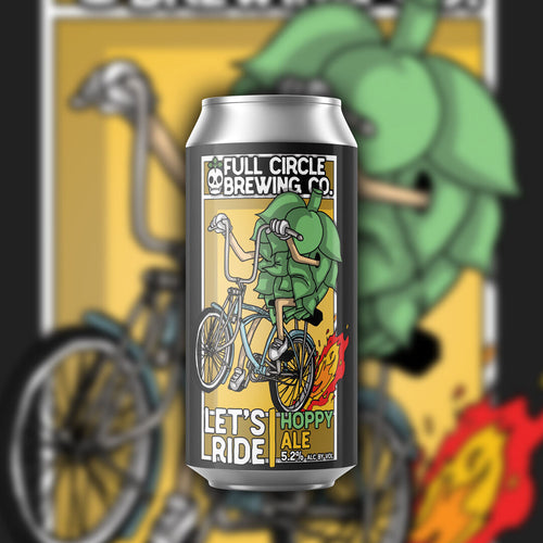 Let's Ride - Hoppy Ale 5.2% ABV - 4 Pack 16 oz Cans