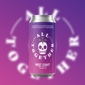 All Together - West Coast IPA - 7.1% ABV 4 Pack 16 oz Cans