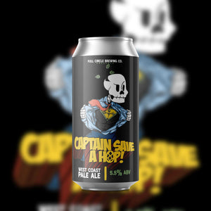 Captain Save A Hop - West Coast Pale Ale 5.5% ABV - 4 pack 16 oz cans