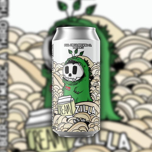 CreamZilla - Cream Ale 5% ABV - 4 Pack 16 oz Cans