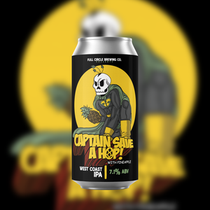 Captain Save a Hop - West Coast IPA 7.1% ABV - 4 Pack 16 oz Cans
