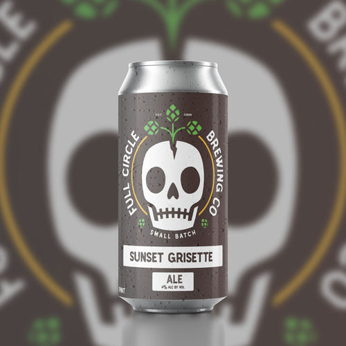 Sunset Grisette - Ale 4% ABV - 4 Pack 16 oz cans