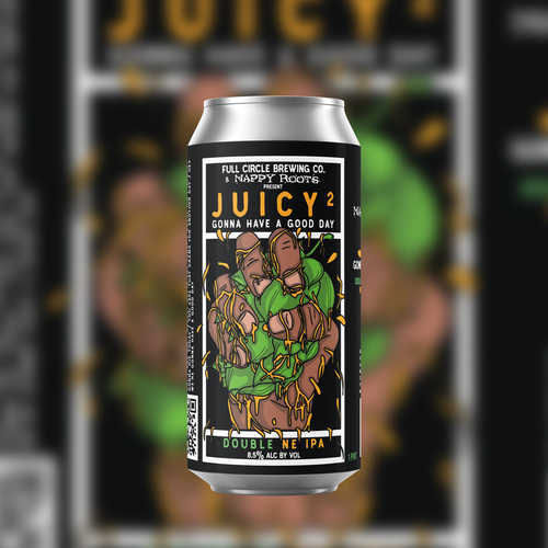 Juicy 2 - NE DIPA 9.3% ABV - 4 Pack 16 oz Cans