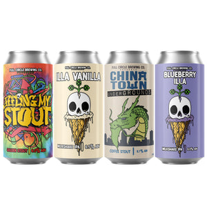 Holiday 4 Pack (Illa Vanilla, Blueberry Illa, Feeling My Stout, & Chinatown)