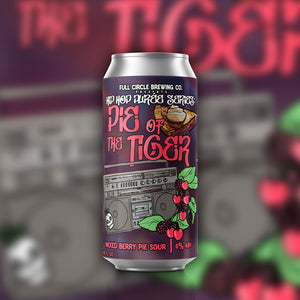 Pie of the Tiger Mixed Berry - American Sour 6.0% ABV - 4 Pack 16 oz Cans