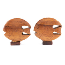 Koa Wood Salt & Pepper Shakers