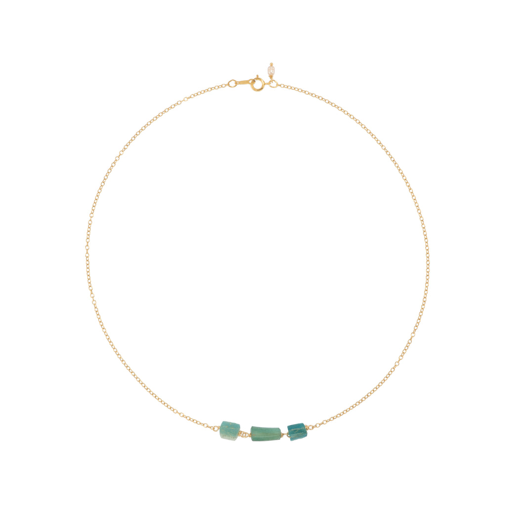 Roman Glass Necklace