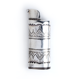 Tuareg Silver Lighter Case