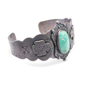 Fred Harvey Sterling Silver Bracelet