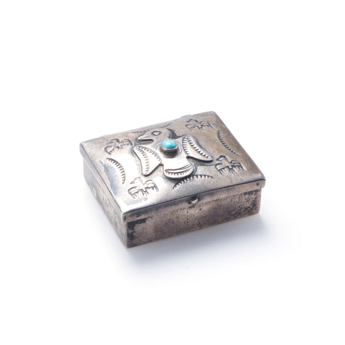 Fred Harvey Silver Small Box