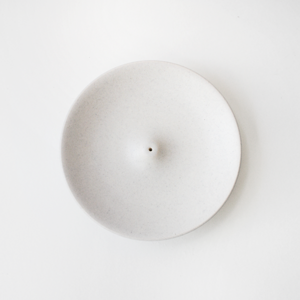 White Tide Incense Holder