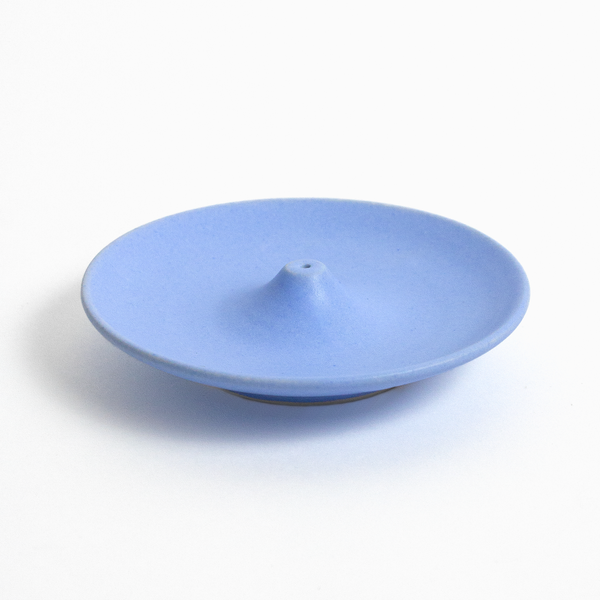 Blue Ceramic Incense Holder