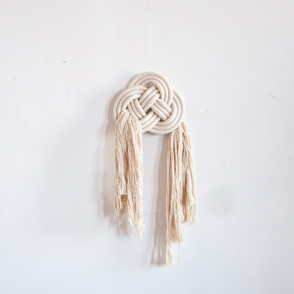 Double Coin Knot Wall Hanging