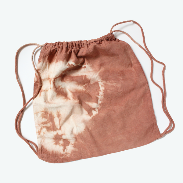 Botanically Dyed Drawstring Bag