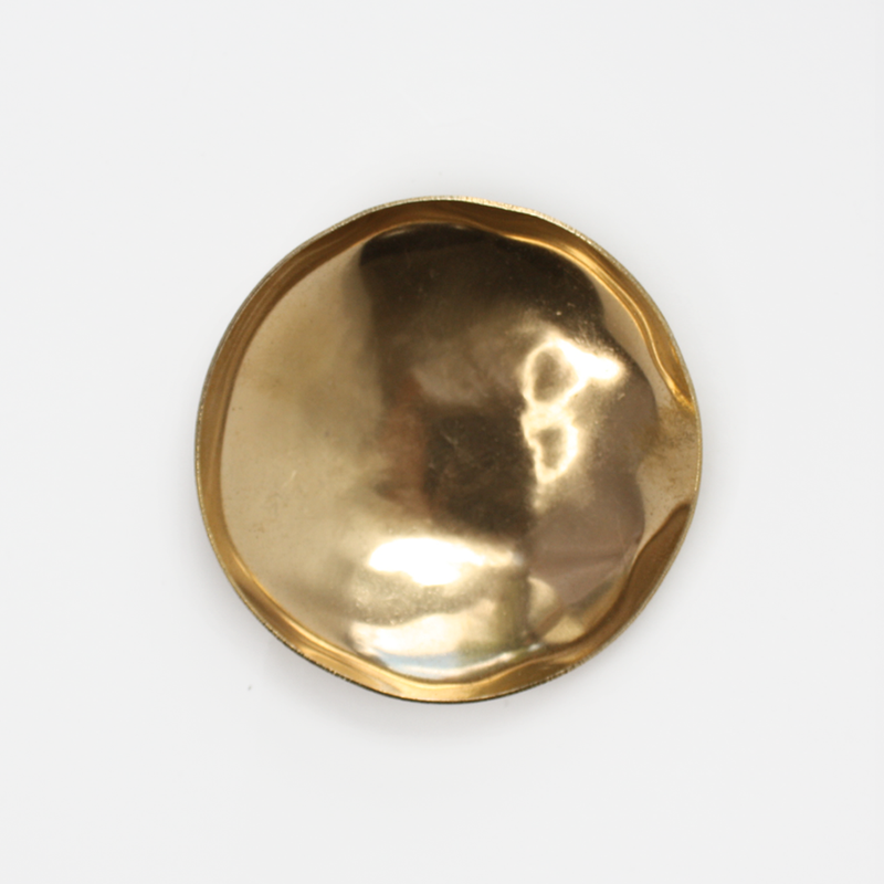 Smooth Brass Dish
