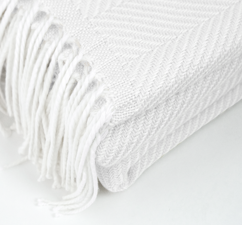 White Beam Blanket
