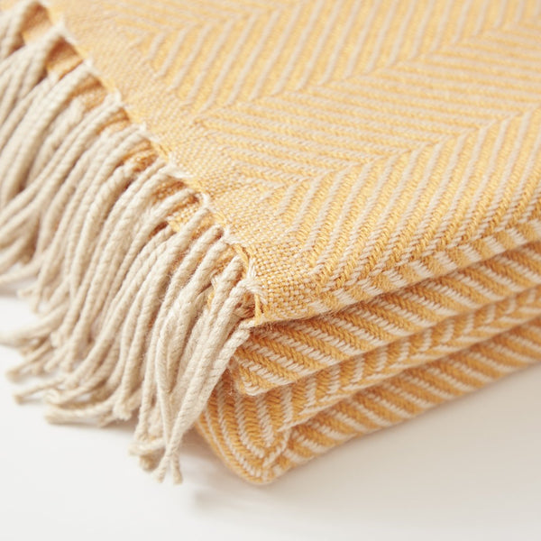 Golden Glow Blanket