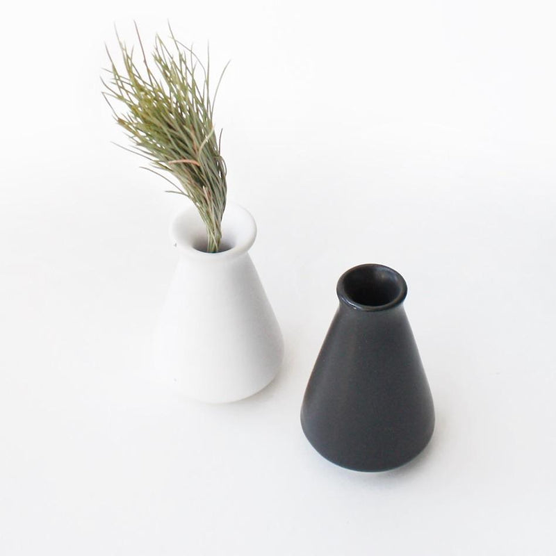 Tapered Ceramic Bud Vase