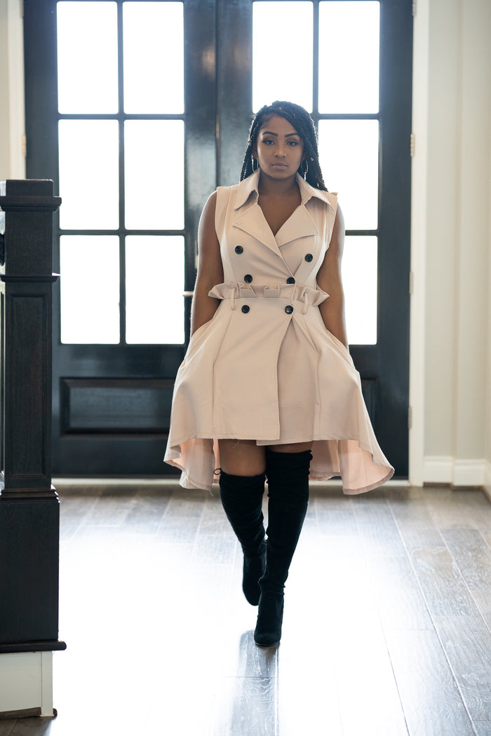 Carmen Trench Coat Dress