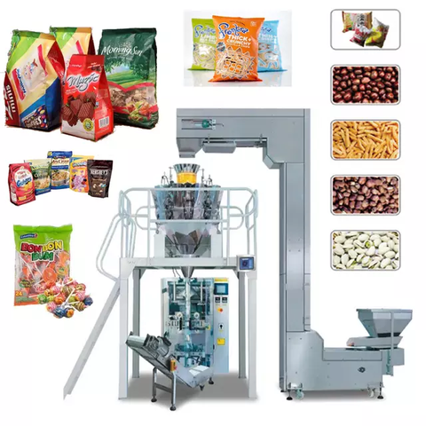private label fill machine for candy and snacks