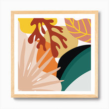 Load image into Gallery viewer, Abstract Leaf Medley Print