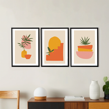Load image into Gallery viewer, Mediterranean Plants Fine Art Prints (Set of 3)