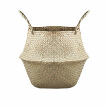 Load image into Gallery viewer, Seagrass Woven Basket Natural - Modern Urban Jungle