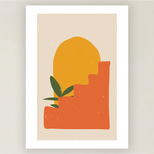 Mediterranean Plants Fine Art Prints (Set of 3)
