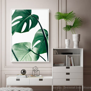 """Welcome 2D Jungle"" Leaf Wall Art - Modern Urban Jungle"