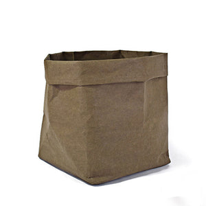 Crumpled Paper Planter Bags - Modern Urban Jungle