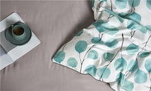 Load image into Gallery viewer, Pale Eucalyptus Silky Bedding Set