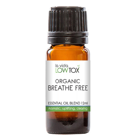 BreatheFree Essential Oil Blend - 100% Organic