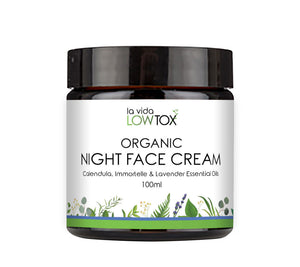 Organic Night Face Cream