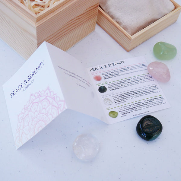Peace & Serenity Crystal Kit