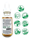 Hemp CBD Oil Full Spectrum/Flower Extract 1500mg (Mint Chocolate)